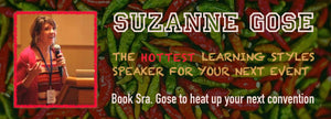 Suzanne Gose learning styles convention speaker