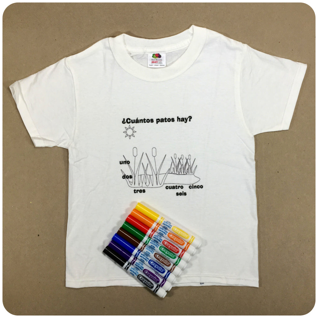 Color Me T-Shirt + Markers