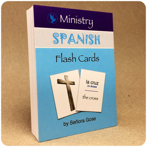 Flip Flop Spanish Flash Cards: Ministry