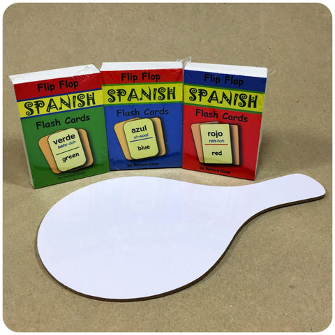 Flash Cards Bundle + White board paddle