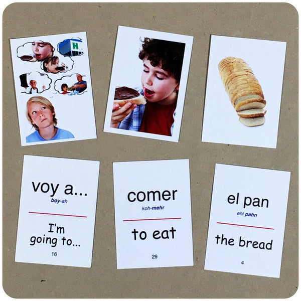 Spanish flashcard sentence 3