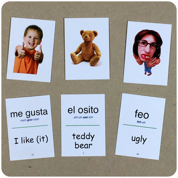 Flip Flop Spanish Flash Cards: Verde - Flip Flop Spanish ??