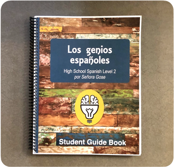 Spanish Geniuses Guide Book Level 2