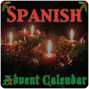 Spanish Advent Calendar - Homeschool Spanish Curriculum | Flip Flop Spanish