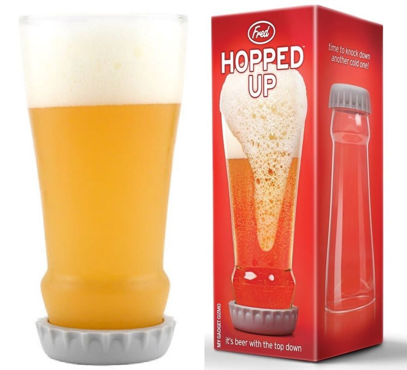 Hopped Up Beer Glass (8s) - Gadgift