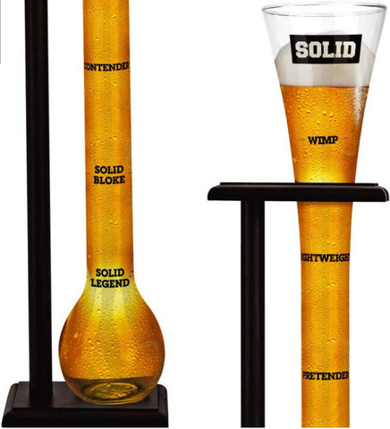 Solid Yard of Ale Drinking Glass - Gadgift - 3