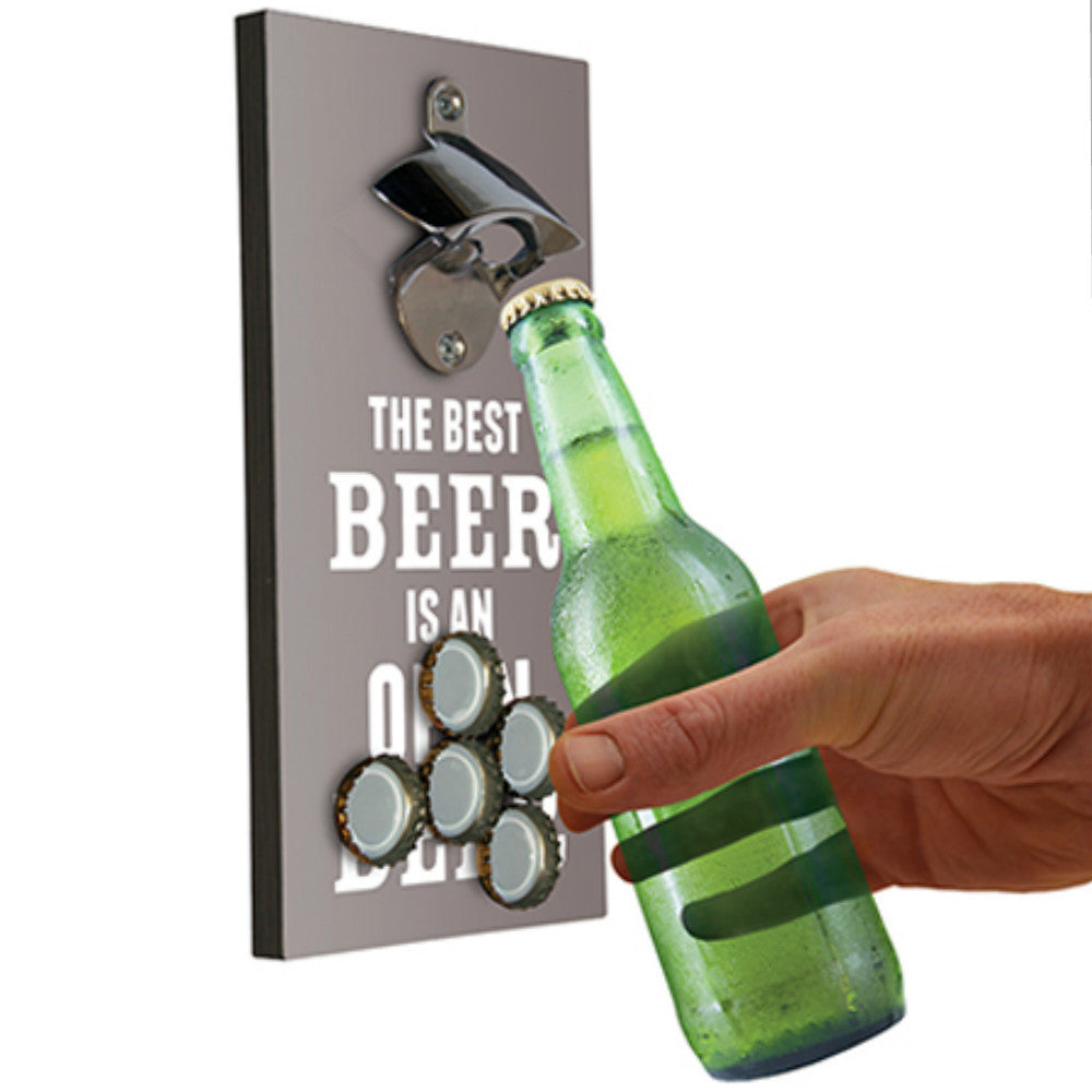 Bottle Opener & Magnetic Top Catcher - Gadgift - 1