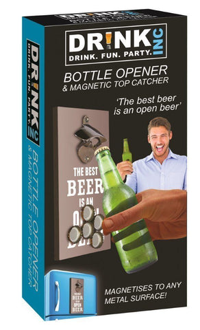 Bottle Opener & Magnetic Top Catcher - Gadgift - 3