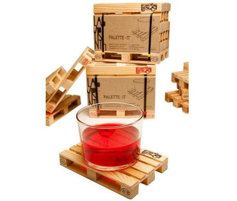 Pallet-It Coasters - Set of 5 - Gadgift - 2