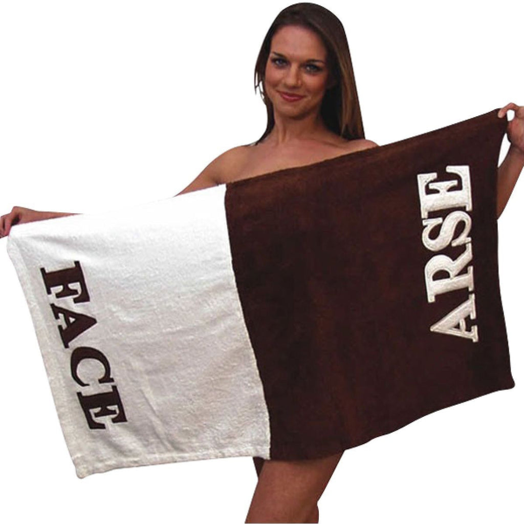 ARSE FACE TOWEL - Gadgift
