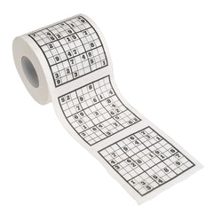 Sudoku Toilet Roll - Gadgift