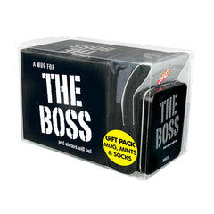 The Boss Gift Pack Mug, Mints & Socks - Gadgift - 2