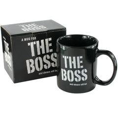 The Boss Mug - Gadgift