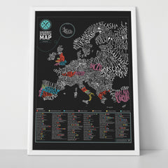 Gourmet Scratch Map - Gadgift - 3