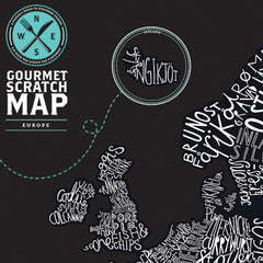 Gourmet Scratch Map - Gadgift - 5