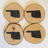 "Coasters- ""Oklahoma"" Set"