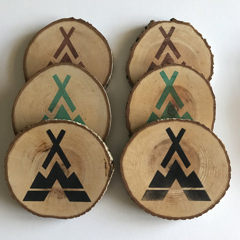 "Coasters- ""Tribe"" Set"