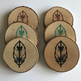 "Coasters- ""Flight"" Set"