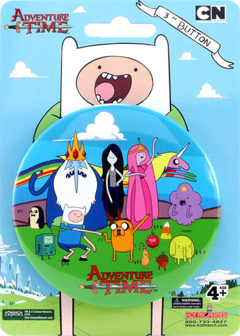 "Adventure Time Characters 3"" Button"