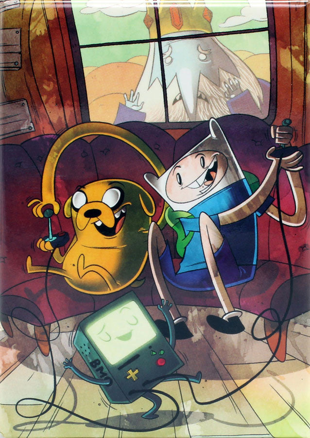Adventure Time with Finn & Jake Issue #5 Variant Cover by Mike Krahulik Magnet - THATWEBSTORE