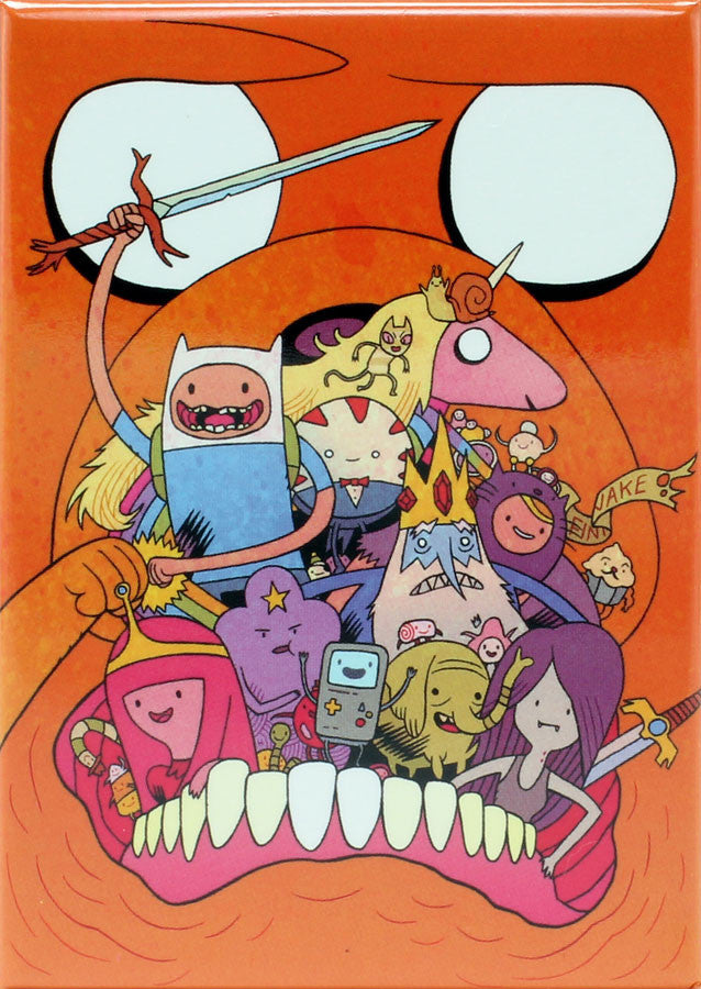 Adventure Time with Finn & Jake #6 Variant Cover by Dan Hipp Magnet - THATWEBSTORE