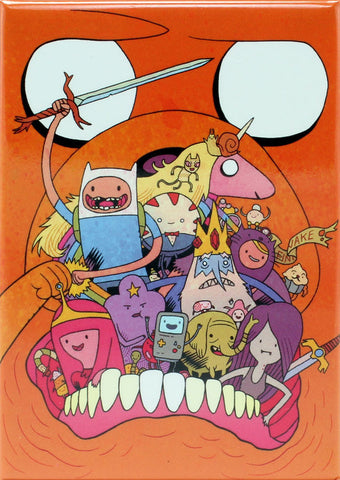 Adventure Time with Finn & Jake #6 Variant Cover by Dan Hipp Magnet