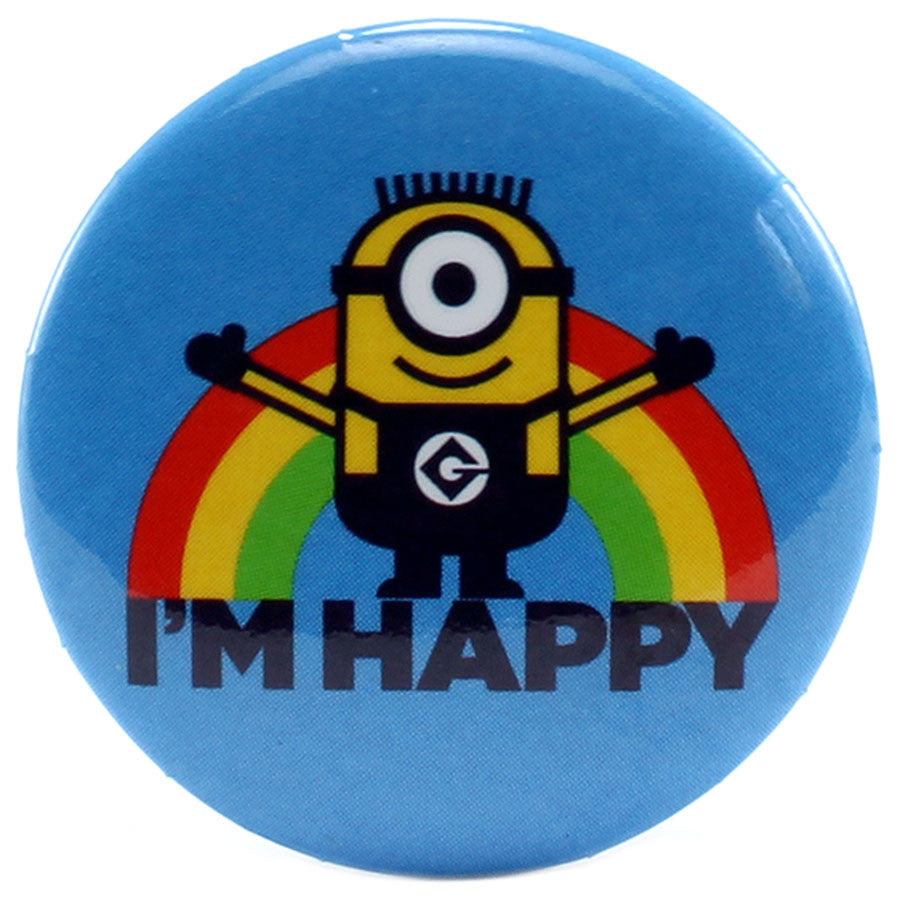 "I'm Happy 1.25"" Button - THATWEBSTORE"