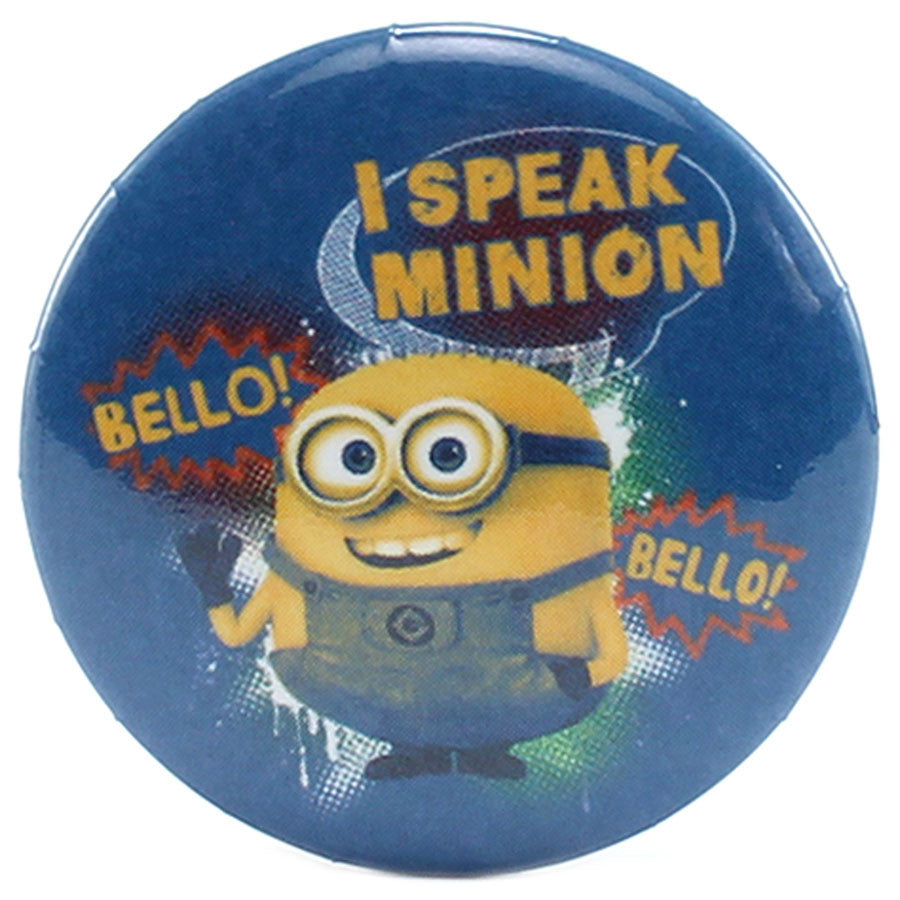 "I Speak Minion 1.25"" Button - THATWEBSTORE"