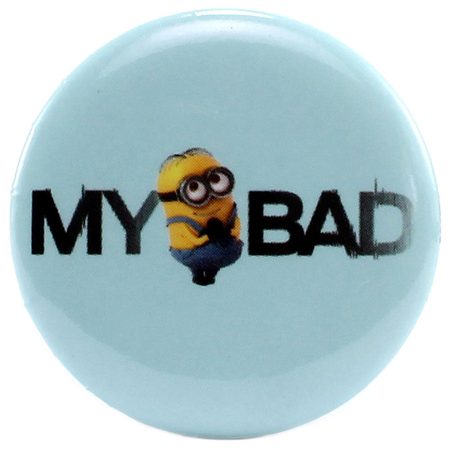 "My Bad 1.25"" Button - THATWEBSTORE"