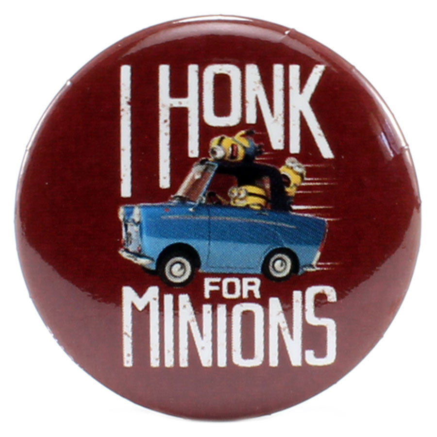"I Honk For Minions 1.25"" Button - THATWEBSTORE"