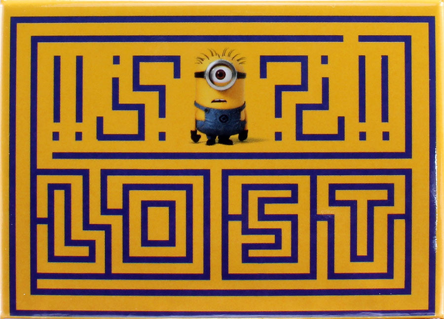 Despicable Me Lost?!? Magnet