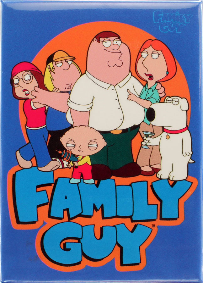Family Guy Characters Magnet - THATWEBSTORE