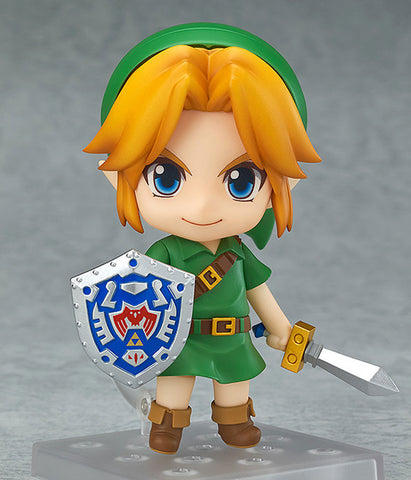 Nendoroid #553: The Legend of Zelda Majora's Mask ~ Link Figure (3D Version)