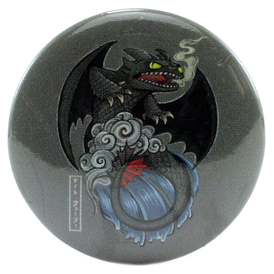 "Japanese Stylized Toothless 1.25"" Button - THATWEBSTORE"