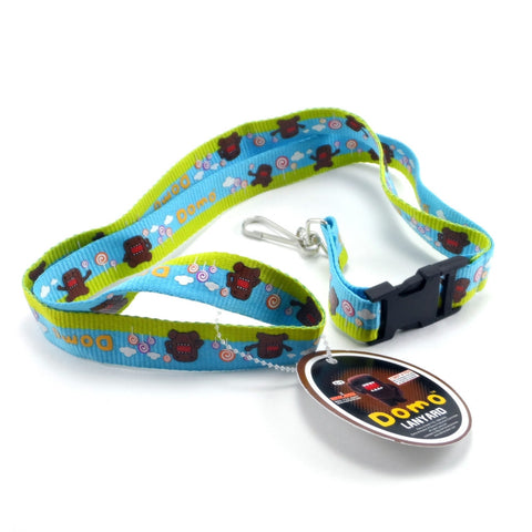 Domo in Lollipop Land Lanyard