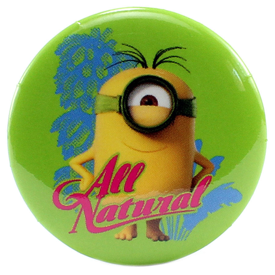"All Natural 1.25"" Button - THATWEBSTORE"