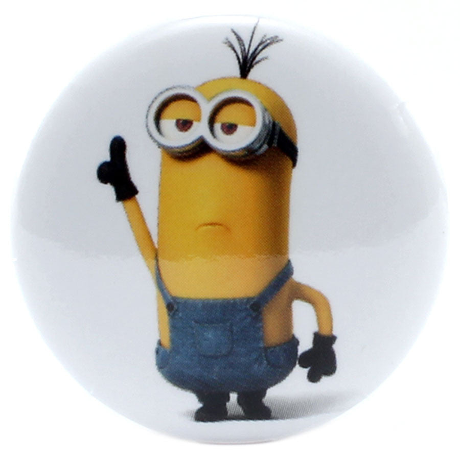 "Minions Disco Dancing Kevin 1.25"" Button"