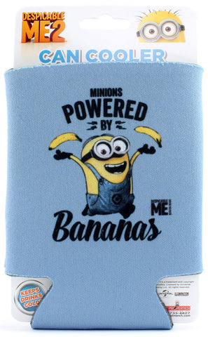 Minions: Powered By Bananas Can Cooler