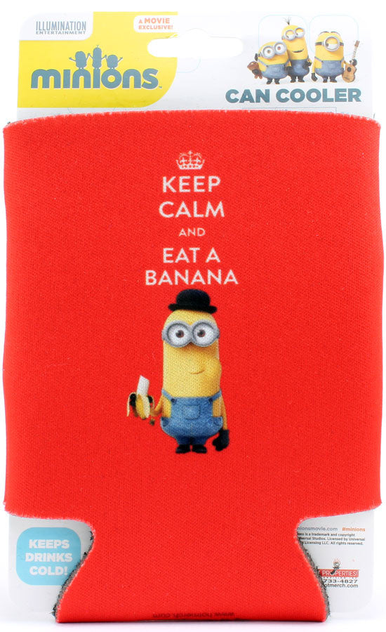 Keep Calm and Eat a Banana Can Cooler - THATWEBSTORE