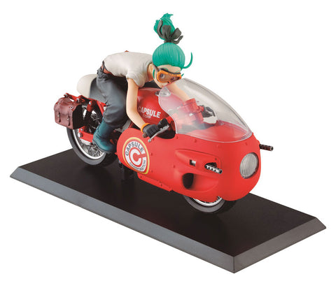 MegaHouse Desktop Real McCoy 3.5: Dragon Ball Z ~ Bulma Figure (Red Version)