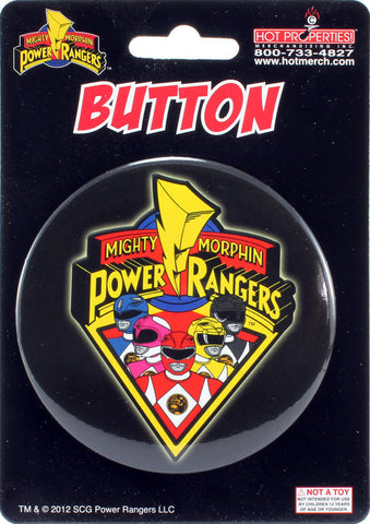 "Mighty Morphin Power Rangers 3"" Button"