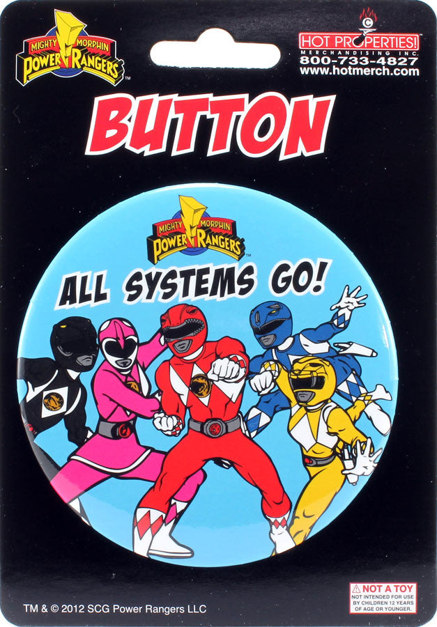 "All Systems Go! 3"" Button - THATWEBSTORE"