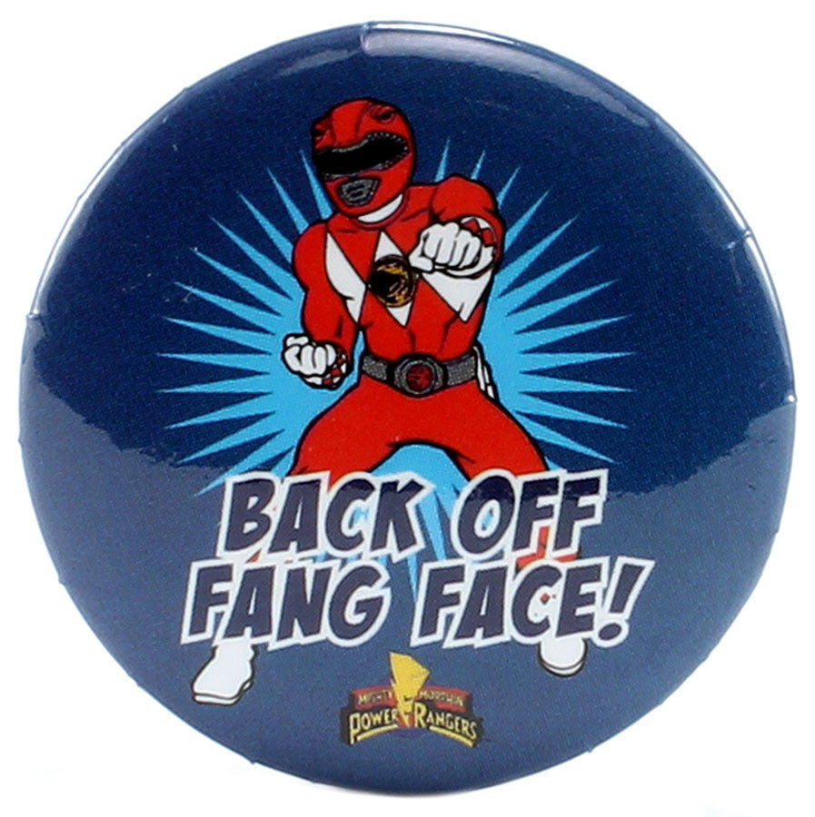 "Back Off Fang Face 1.25"" Button - THATWEBSTORE"