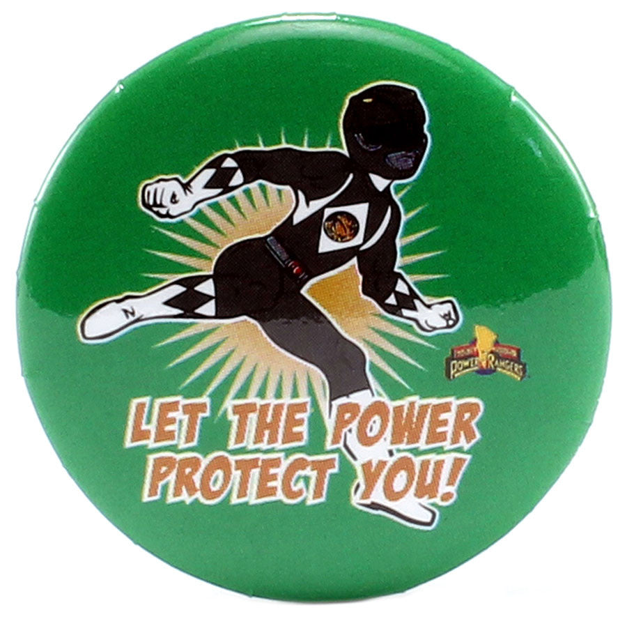 "Let The Power Protect You! 1.25"" Button - THATWEBSTORE"