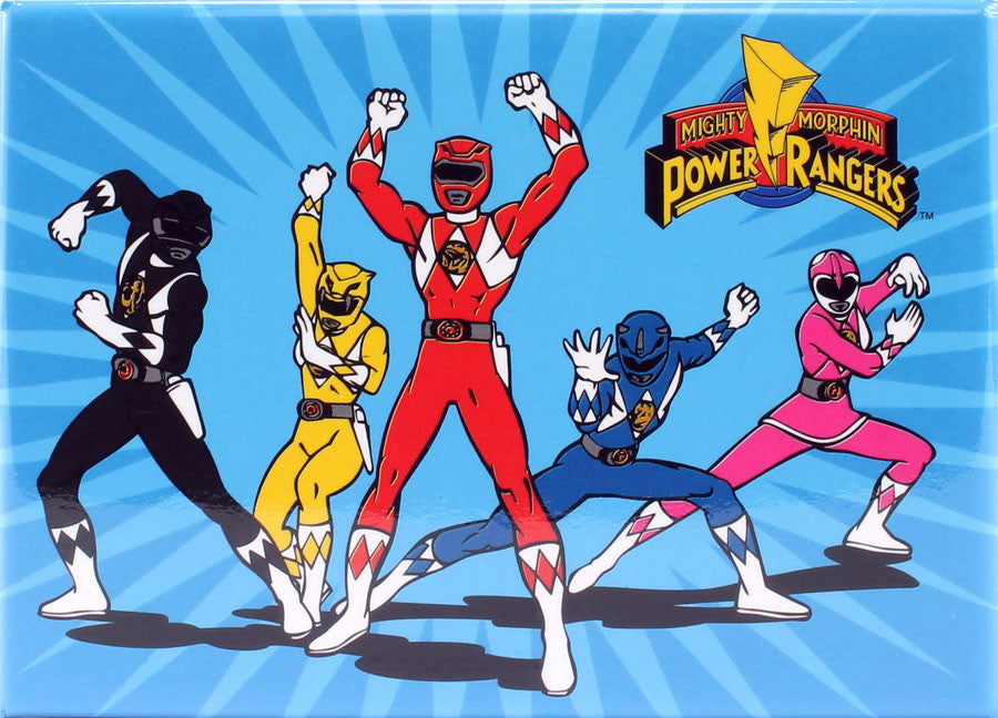 Battle Ready Power Rangers Magnet - THATWEBSTORE