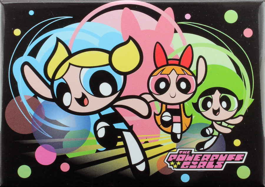 Playtime with The Powerpuff Girls Magnet - THATWEBSTORE