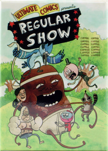 Regular Show #1 Variant Cover by Charles P. Wilson III Magnet