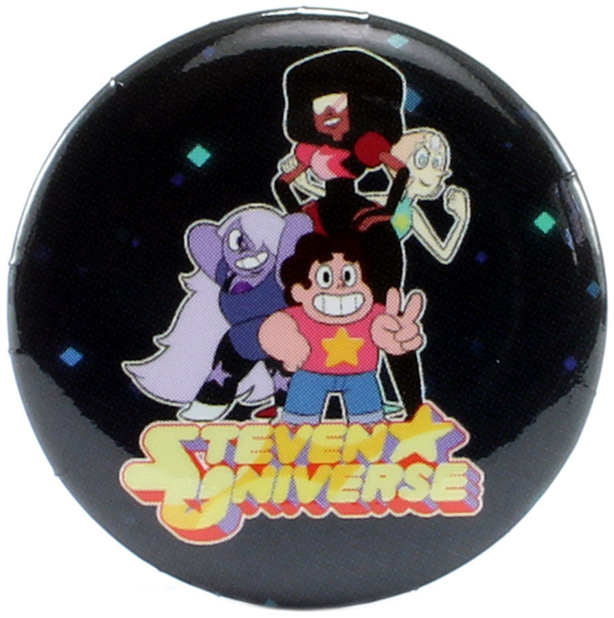 "Steven Universe Crystal Gems Victory Pose 1.25"" Button"