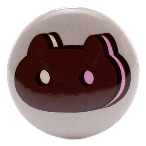 "Cookie Cat Cookie 1.25"" Button"