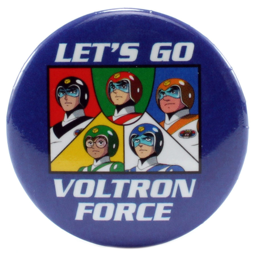 "Let's Go Voltron Force 1.25"" Button - THATWEBSTORE"